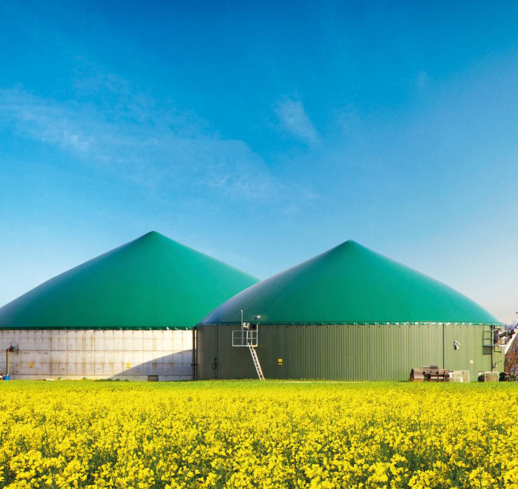 STEINHAUS OPTIMA Separator-Zylinder Biogas Anlage