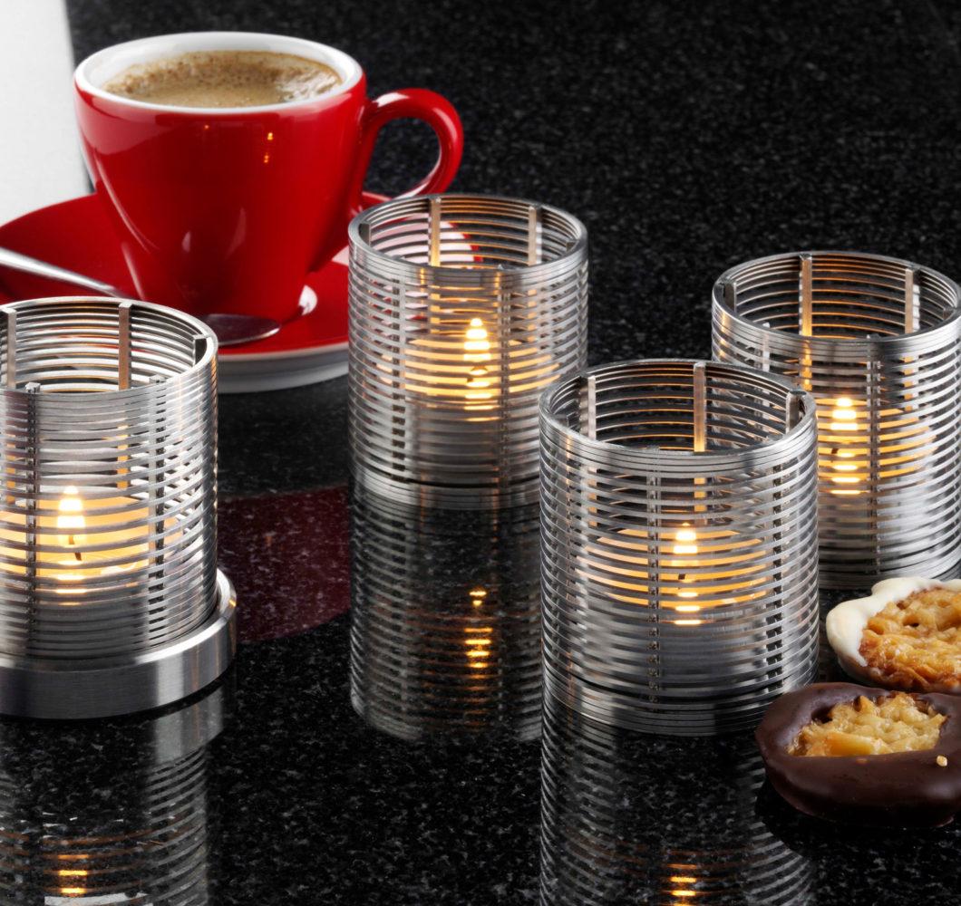 STEINHAUS OPTIMA Präzisionsfilterrohr Teelichter