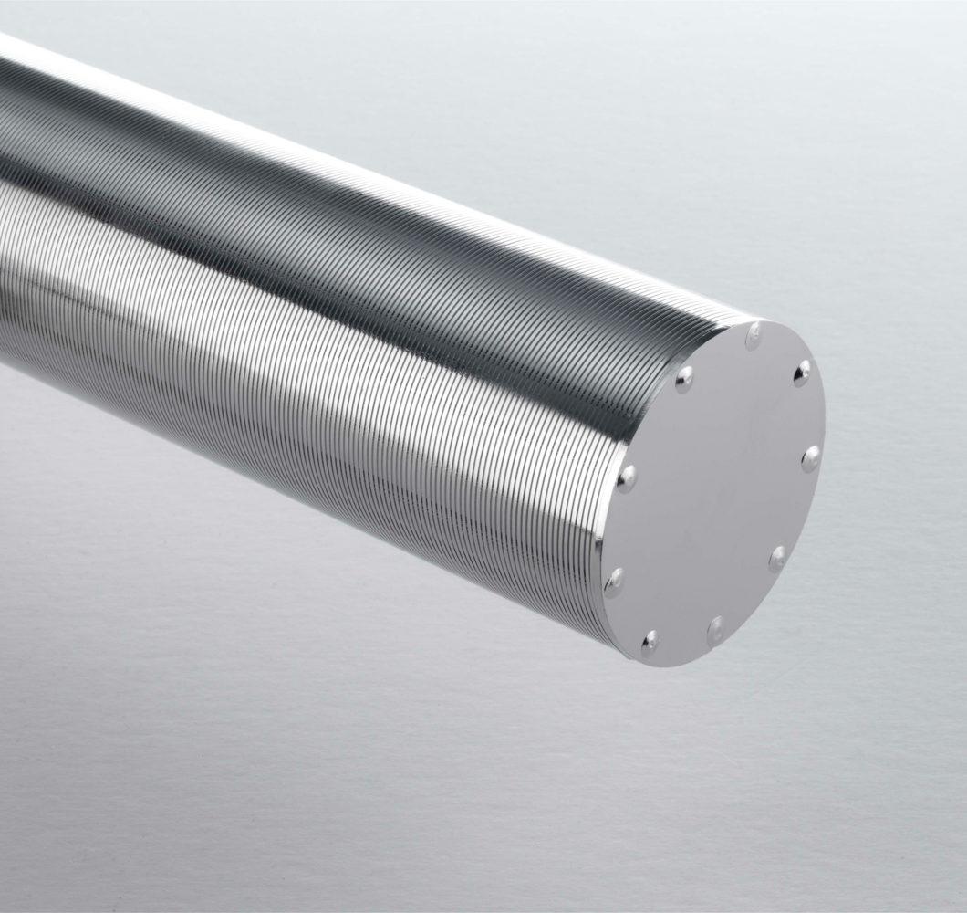 STEINHAUS OPTIMA Präzisionsfilterrohr mit Boden - einfache Ausführung