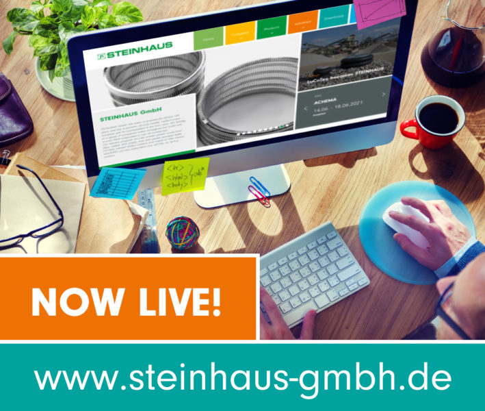 STEINHAUS new website