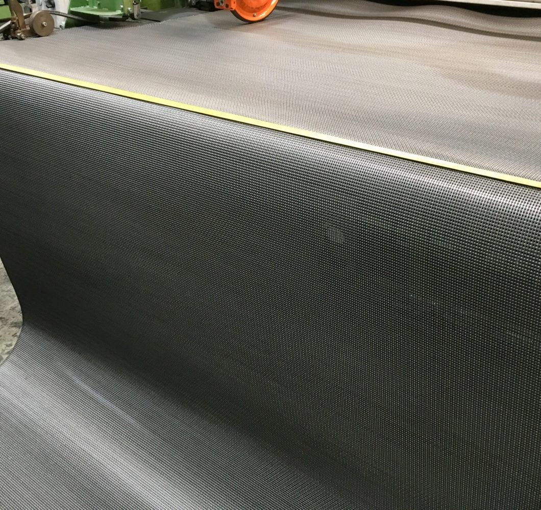 Rolled baking oven belt - 1850 mm width