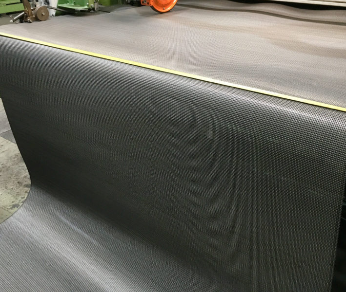 Gewalzter Backgurt 1850 mm breite