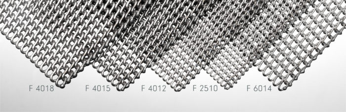 """Full range of available """"F-type"""" rolled baking oven belts"""